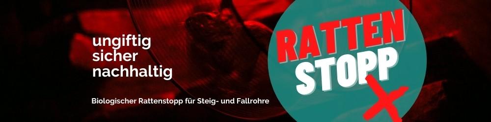 Rattenstopp/Rattenfalle Banner